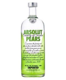 Harga Absolut Pear Vodka 75cl Alc 40% Vol