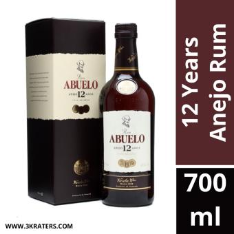 Harga Abuelo Anejo 12 Years Rum 700ml