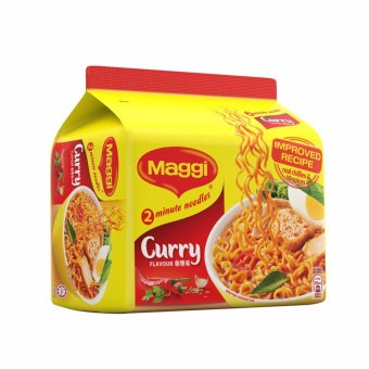 Harga MAGGI 2-Min Curry Noodles (5x79g)
