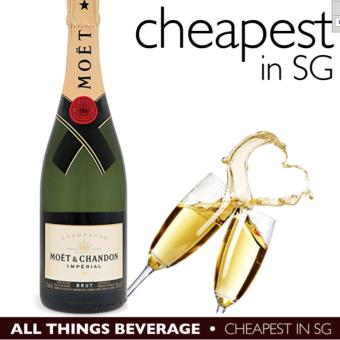 Harga Moet & Chandon Brut Champagne without box (Cheapest in SG)