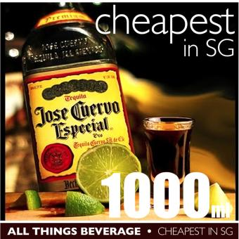 Harga Jose Cuervo Especial Gold Tequila 1000ml Cheapest in SG