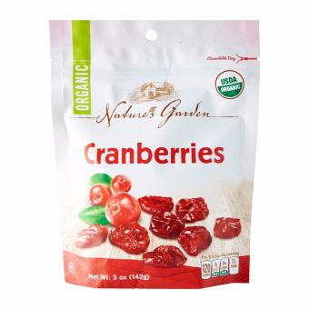 Harga Nature's Garden Organic Cranberries