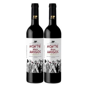 Harga [Bundle of 2] Monte dos Amigos Reds 750ml