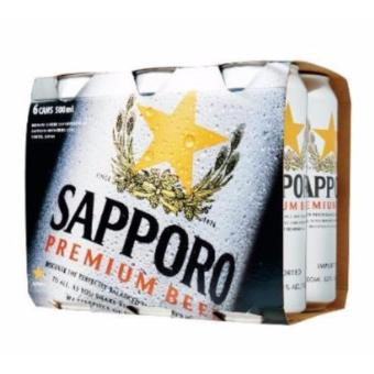 Harga Sapporo Premium Draft Beer 500Ml 6 Pack