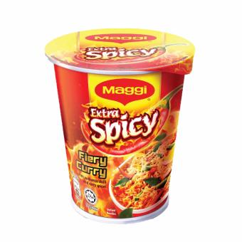 Harga MAGGI Extra Spicy Fiery Curry Cup Noodles (59g)