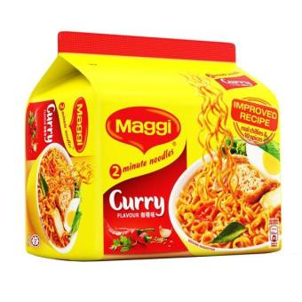 Harga Maggi Instant Noodles - Curry 5S 79G