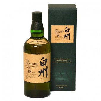 Harga Hakushu 18 Year Old by Suntory (With Box)