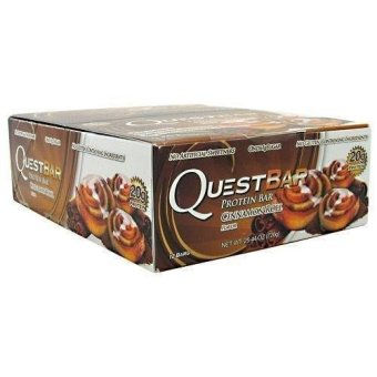 Harga Quest Nutrition Bars (Cinnamon Roll) Box of 12