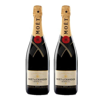 Harga [Duo Pack offer] Moet & Chandon Imperial Brut NV 75cl x 2