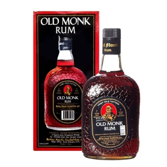 Harga Old Monk Rum 7 Years old 75cl