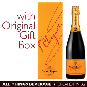 Harga Veuve Clicquot Yellow Label Brut Champagne with GIFT BOX (Cheapest in SG)