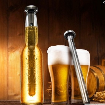 Harga Set of 2 Stainless Steel Beer Chilling Sticks/Cooling Stick/Good for summer use/Alcohol/Juice/Coffee