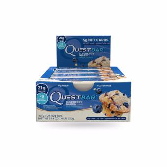 Harga Quest Nutrition Bars (Blueberry Muffin) Box of 12