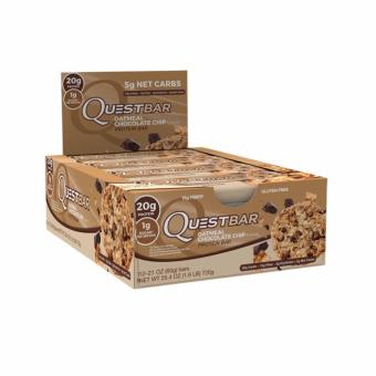 Harga Quest Nutrition Bars (Oatmeal Chocolate Chip) Box of 12