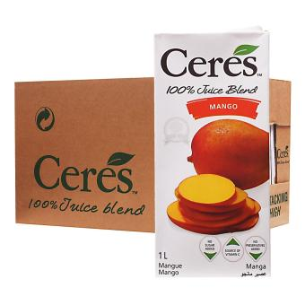 Harga Ceres Mango 100% Juice - Case