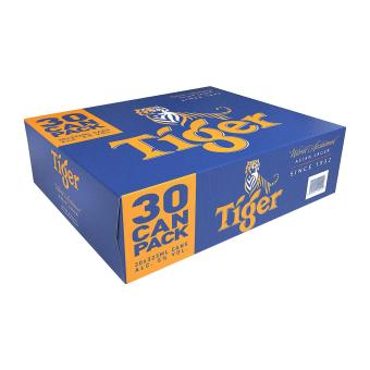 Harga Tiger Lager Beer 30 x 323ml - Case