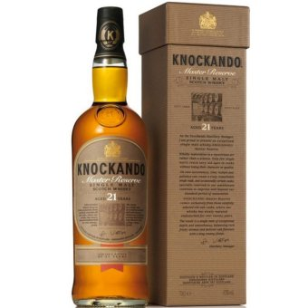 Harga Knockando Master Reserve 21 Years Distilled 1990
