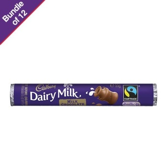Harga Cadbury Milk Roll 55g - Bundle of 12