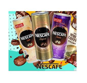 Harga Nescafe Ipoh White Coffee Can Drinks Bundle of 12cans [Halal] (240ml)