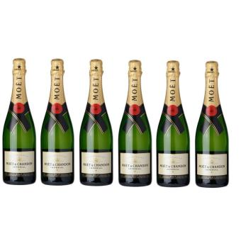 Harga Moet & Chandon Brut 750ml x6