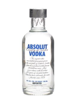 Harga Absolut Vodka 20cl Alc 40% Vol