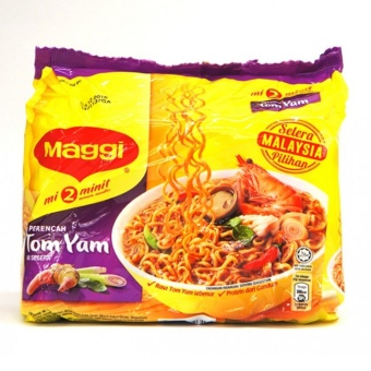 Harga Maggi Instant Noodles - Tom Yam 5S 83G