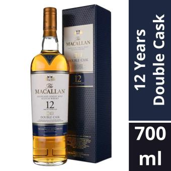 Harga The Macallan Double Cask 12 Years Old 700ml / Local Agent Stock