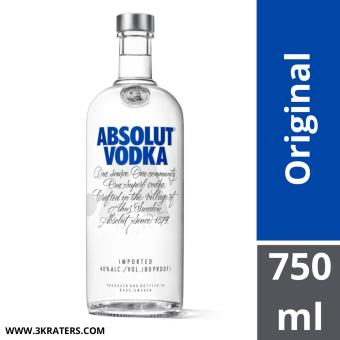 Harga Absolut Vodka Original 750ml