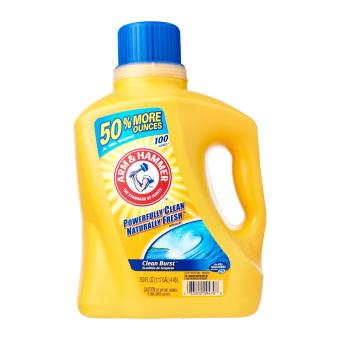 Harga Arm & Hammer 2x Concentrated Liquid Laundry Detergent Clean Burst