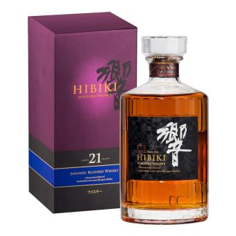 Harga Hibiki 21 Years Old with Box 700ml
