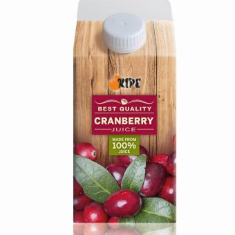Harga Ripe Cranberry Juice 500ml x 24 packets