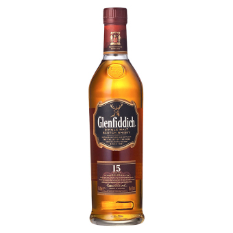 Harga Glenfiddich 15 Year Old Whisky 75cl