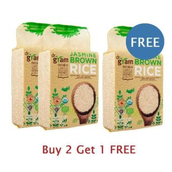 Jasmine Brown Rice 2kg - Buy 2 Get 1 Free