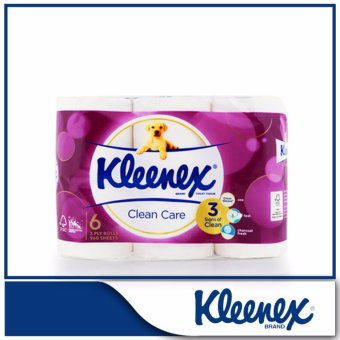 Kleenex Clean Care Bath Tissue 6x160sheets