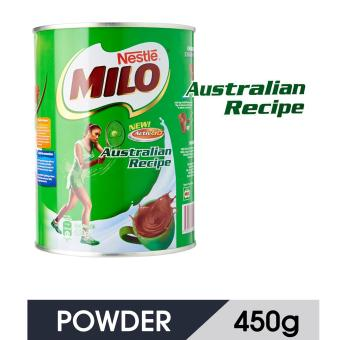 Harga MILO Australian Recipe Powder Tin 450G