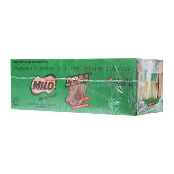 MILO UHT Chocolate Malt Packet Drink 24x200ml