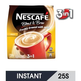 NESCAFE Blend&Brew Mild 3in1 25S Instant Coffee
