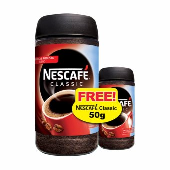 Harga NESCAFE(R) CLASSIC Jar Instant Soluble Coffee 200g + 50g