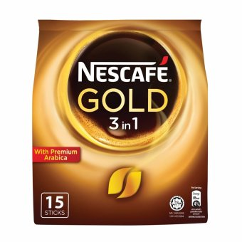 Harga NESCAFE(R) GOLD BLEND 3in1 15S Instant Coffee
