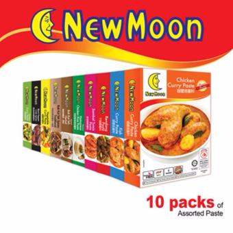 Harga New Moon Assorted Paste Set - 10 Boxes