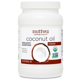 Harga Nutiva Organic Virgin Coconut oil 444ml