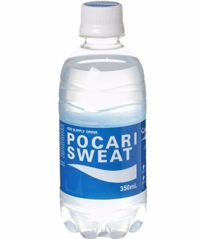 Pocari Isotonic Water-Bot - 350ml