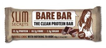 Slim Secrets Bare Bar - Double Choc 40g - Box of 12 - 3