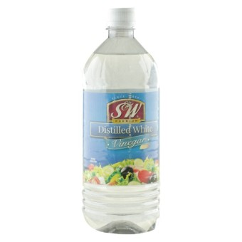 Harga S&W White Distilled Vinegar 946 ml