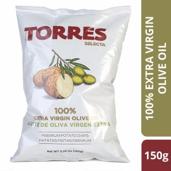 Harga Torres Selecta 100% Extra Virgin Olive Oil Potato Chips - 150g