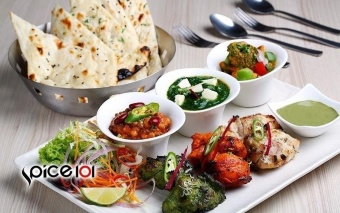 Harga Spice 101 $20 Cash Voucher for Authentic Indian Cuisine