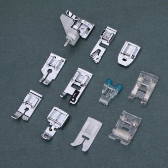 11Pcs Domestic Sewing Machine Presser Foot Feet (EXPORT)