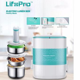 2L/3 Tier Electric Lunch Box (Safety Mark) Lifepro DS11 / FREE Vacuum Pump/6 months warranty