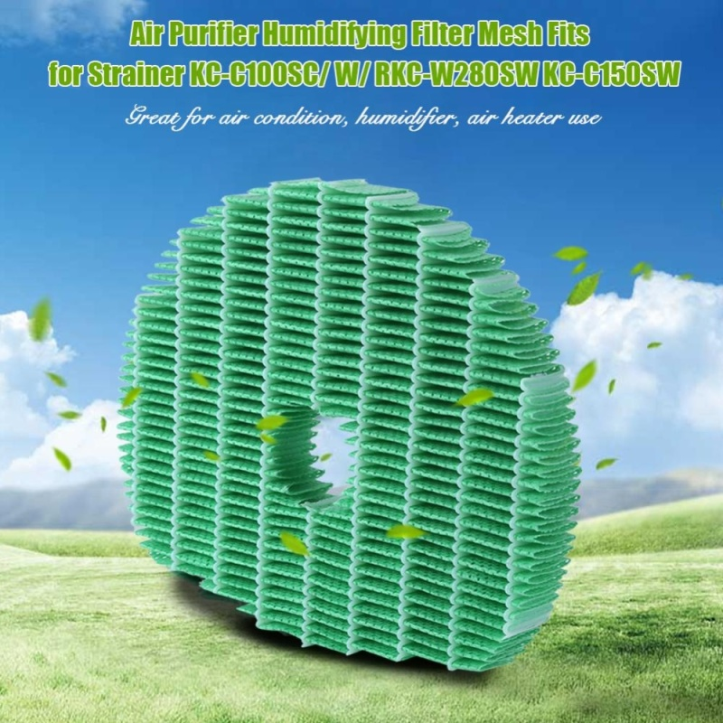 Air Purifier Humidifying Filter Mesh Fits for Strainer KC-C100SC/ W/ RKC-W280SW KC-C150SW - intl Singapore