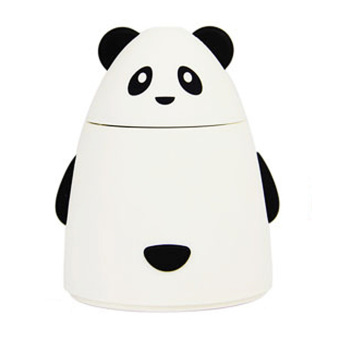 Aroma Diffuser Aromatherapy Air Purifier USB Panda Humidifier (White)